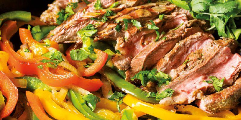 Plancha de bœuf au pesto