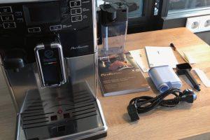 La machine à café PicoBaristo de Saeco