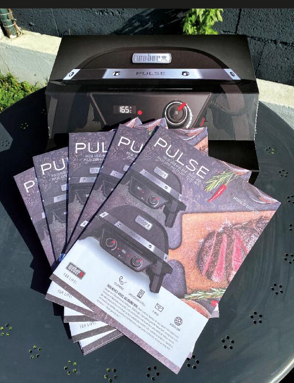 Le barbecue électrique Pulse 1000 de Weber 1