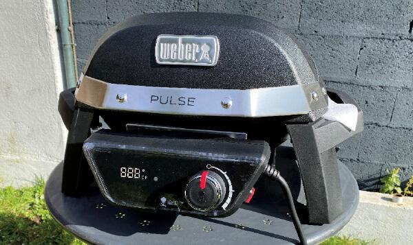 Le barbecue électrique Pulse 1000 de Weber 5